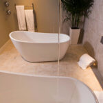 Soak tubs in the Calladora Suite.