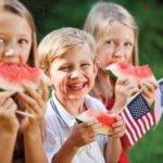KidsEatingWatermelon_18948160