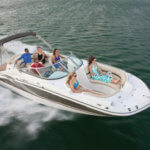 24 Foot Hurricane Deck Boat