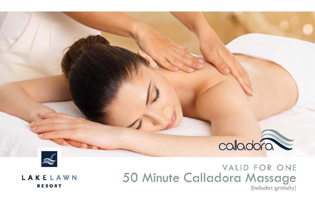50 Minute Calladora Massage