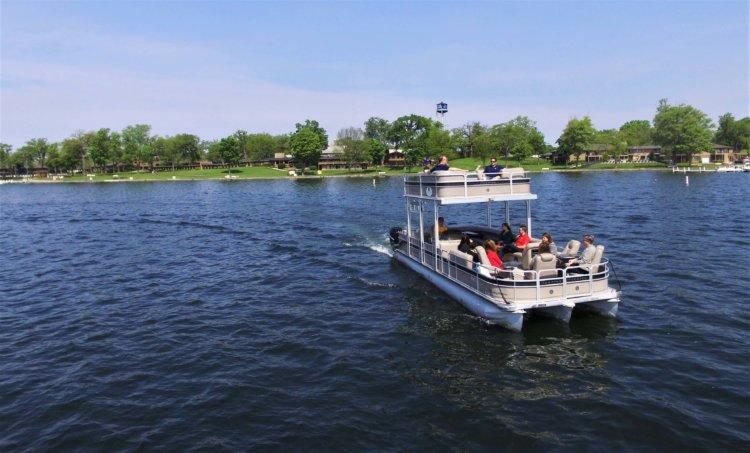 delevan Lake Boat Tour