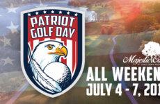 Patriot day golfing