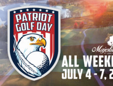 Patriot day golfing