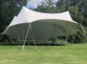 Shake the lake tent