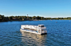 Lake Lawn Queen Tour Boat on Delavan Lake